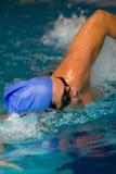 游泳者 免版税库存图片
