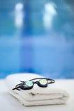 游泳的时刻! 免版税库存图片