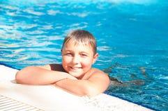 游泳-健康保证  免版税图库摄影