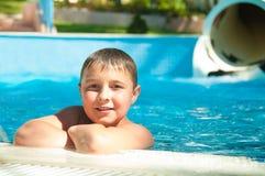 游泳-健康保证  免版税库存图片