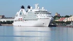 游船` Seabourn在内娃河的搜寻` 股票视频
