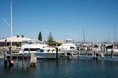 游艇俱乐部在Fremantle 库存图片