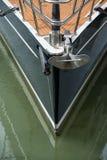 游艇和船锚 免版税图库摄影