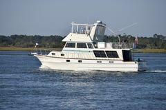 游艇在佛罗里达,美国 免版税库存照片