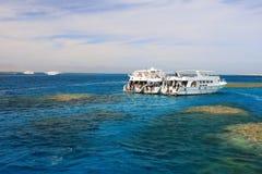 游艇在埃及 库存照片