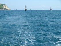 游艇在海 图库摄影