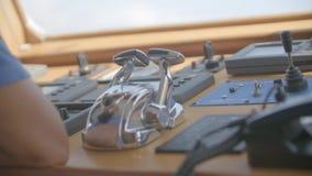 游艇控制板 股票视频