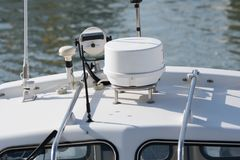 游艇设备 图库摄影
