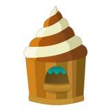 游艺集市元素-孩子的例证 免版税库存图片