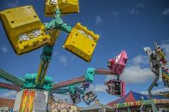 游艺集市在哈尔登 免版税图库摄影