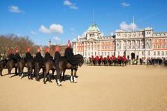 游行在伦敦 免版税库存图片