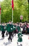 游行在第17的奥斯陆可以 库存照片