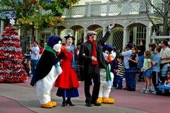游行的玛丽Poppins在迪斯尼世界 图库摄影