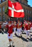 游行, Sonderborg,丹麦 库存图片