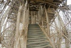 游览埃菲尔,巴黎结构  免版税库存照片