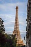 游览埃菲尔,巴黎 库存图片