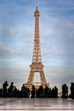 游览埃菲尔,巴黎 库存照片