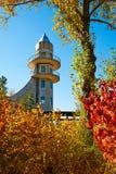 游览塔在秋天 图库摄影