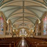 游览教会圣马丁  库存照片