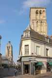 游览查尔曼和de L'Horloge 浏览 法国 免版税库存照片