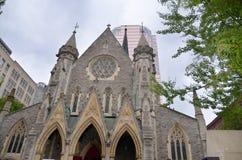 游览毕马威或Place de la Cathedrale 免版税图库摄影