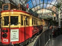 游览火车在克赖斯特切奇 图库摄影