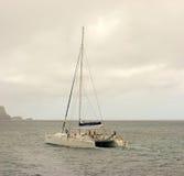 游览筏在迎风群岛 库存图片