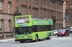 游览车在纽约美国 免版税库存图片
