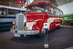 游览车奔驰车O3500, 1950年 免版税库存照片