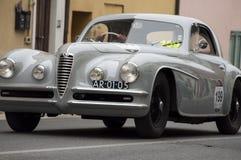 游览1950年的阿尔法・罗密欧6C 2500 SS 免版税库存图片