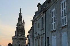 游览de la Lanterne,拉罗歇尔(法国) 库存图片