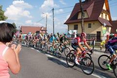 游览de Pologne 2015年 免版税库存图片