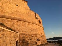 游览Royale,堡垒在土伦,法国 库存图片