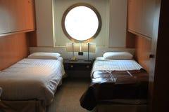 游轮客舱 免版税库存图片