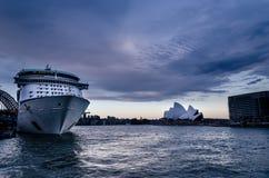 游轮悉尼 免版税库存图片