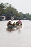 湄公河三角洲, Cai是镇,越南 免版税图库摄影