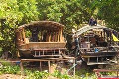 湄公河三角洲, Cai的人们是,越南 免版税库存照片