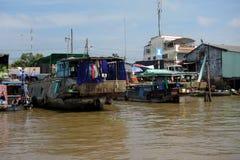 湄公河三角洲 免版税库存图片