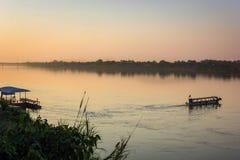 湄公河,泰国 库存图片