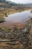 湖一点 免版税库存图片