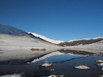 湖一点 免版税库存照片