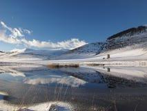 湖一点 图库摄影