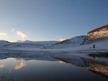 湖一点 库存照片
