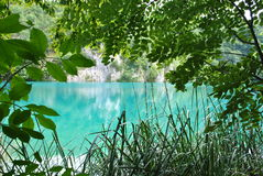 湖一 免版税图库摄影