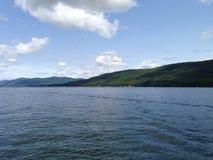 湖乔治风景 库存图片