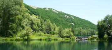 湖公园 库存照片
