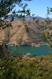 湖内华达山脉西班牙 库存图片