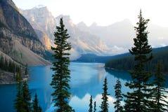 湖冰碛 免版税图库摄影