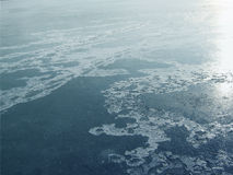 湖冰谷  库存照片