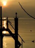 湖加尔达 免版税库存照片